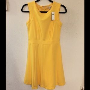 Summer Yellow dress Banana Republic size 0